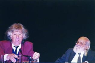 Paulo Freire e Augusto Boal no Congresso Internacional PTO – Pedagogy Theater of Opressed